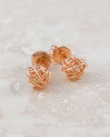 tiny-nest-rose-gold-stud-earrings