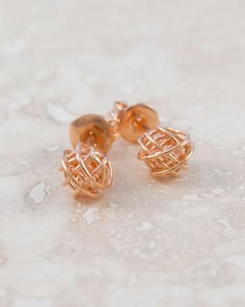 tiny-nest-rose-gold-stud-earrings