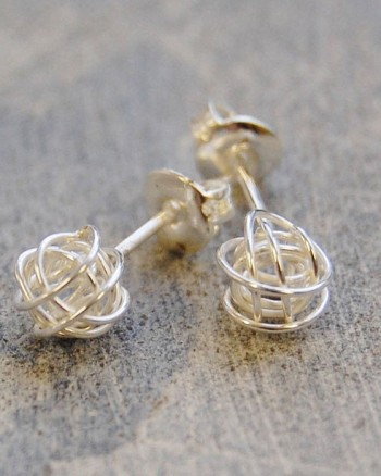 tiny-nest-silver-stud-earrings