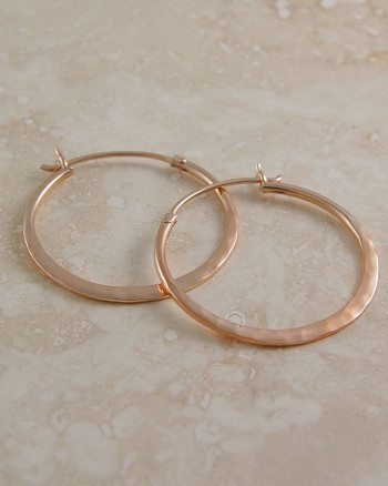 original_battered-small-rose-gold-hoop-earrings
