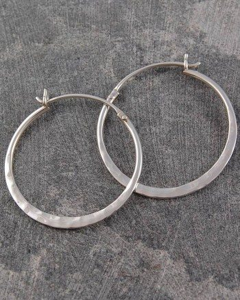 original_small-silver-battered-hoop-earrings