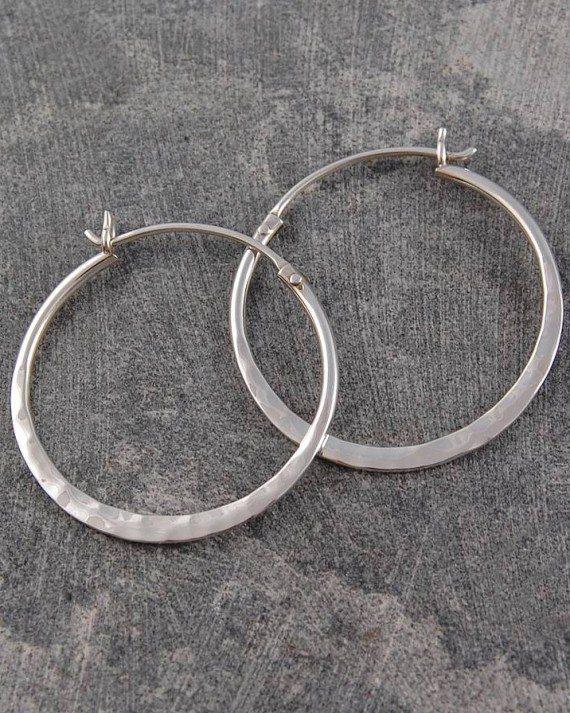 original_small-silver-battered-hoop-earrings